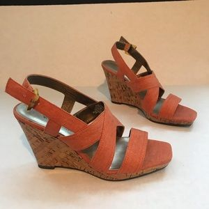 Worthington wedge sandals